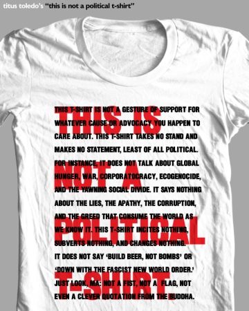 toledo this is not political t shirt