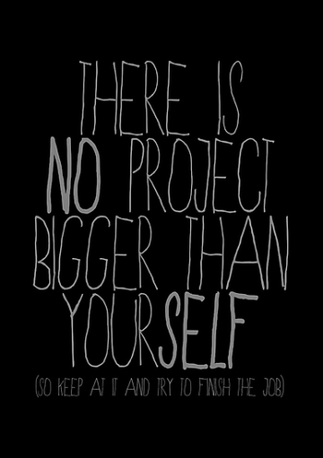 toledo there is no project bigger than yourself