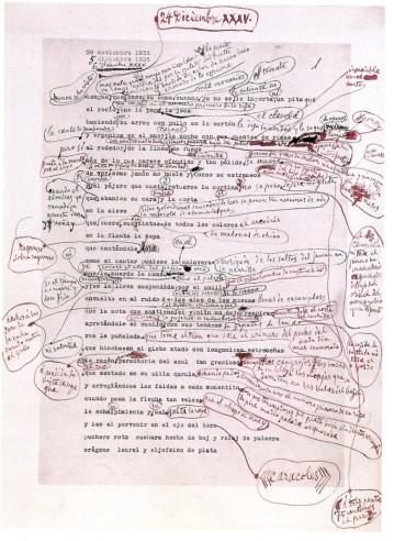 picasso annotated poem manuscript december 24 1935 748x1024