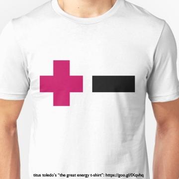 toledo the great energy tshirt